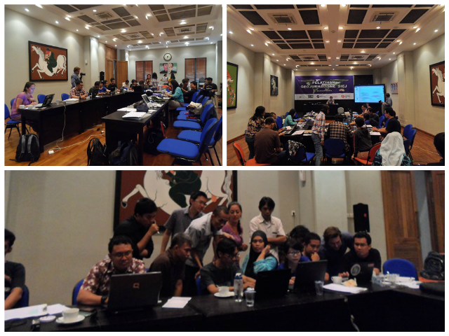 Participants are excited to learn OSM and Ushahidi
