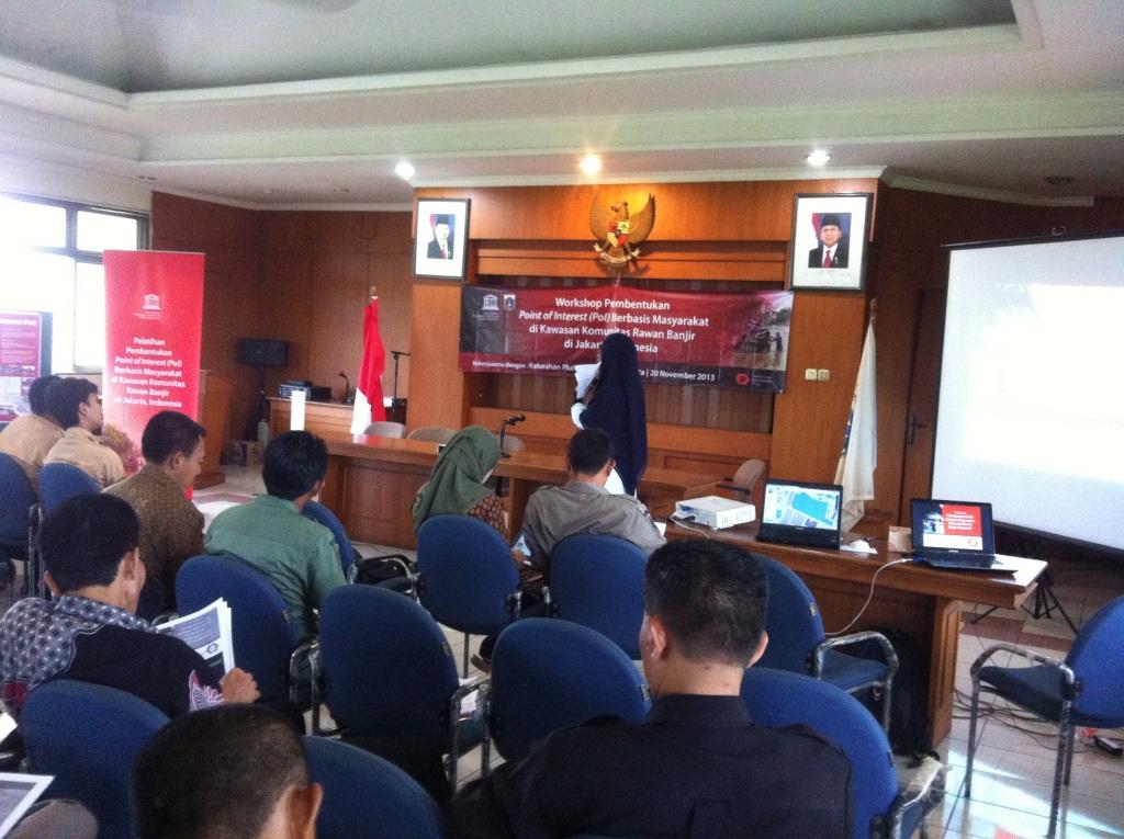 Pemaparan Pelaksanaan Kegiatan Pelatihan POI di Kelurahan Pluit oleh HOT