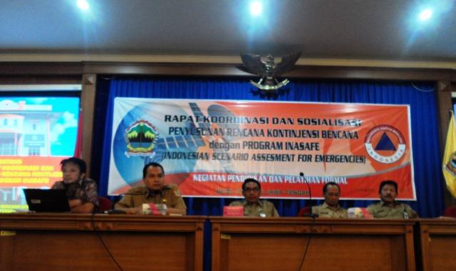 Pembukaan acara oleh Bp. Temmy Purboyono dari BPBD Jawa Tengah