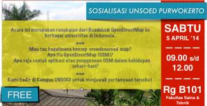 Sosialisasi OSM Purwokerto