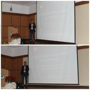 Presentasi OSM di Indonesia dibawakan oleh Yantisa Akhadi (Sumber : FOSS4G Asia Website)