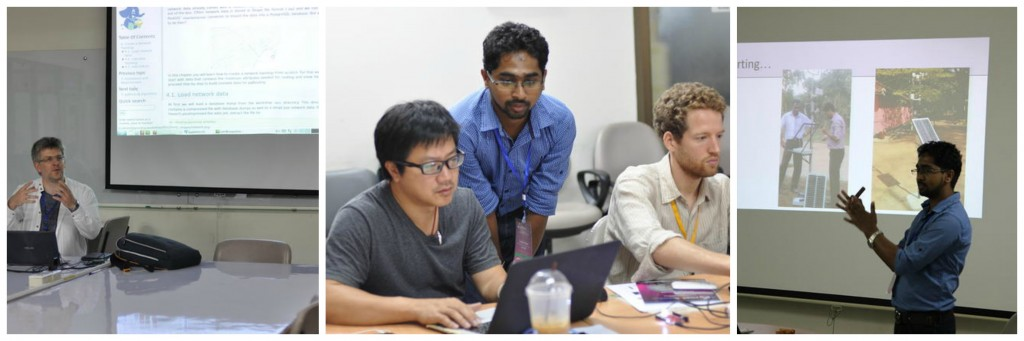 Sesi Workshop lain di FOSS4G (Sumber : FOSS4G Asia Website)