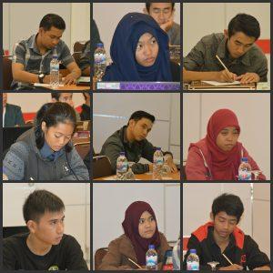 Ekspersi para peserta saat pelatihan