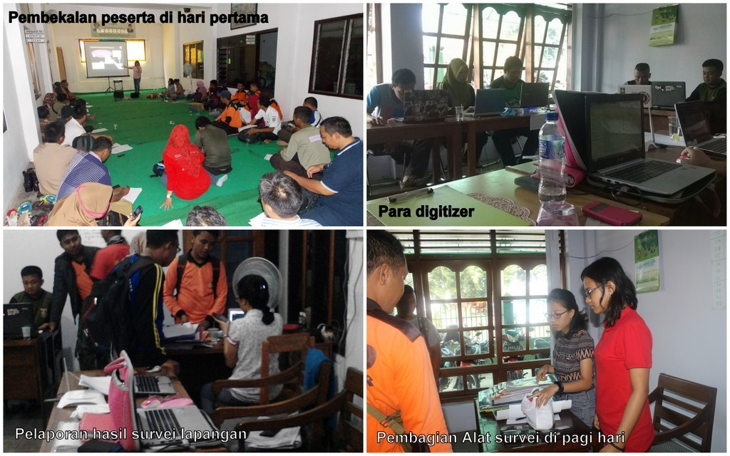 Suasana di Basecamp @Kantor LPBI NU Situbondo