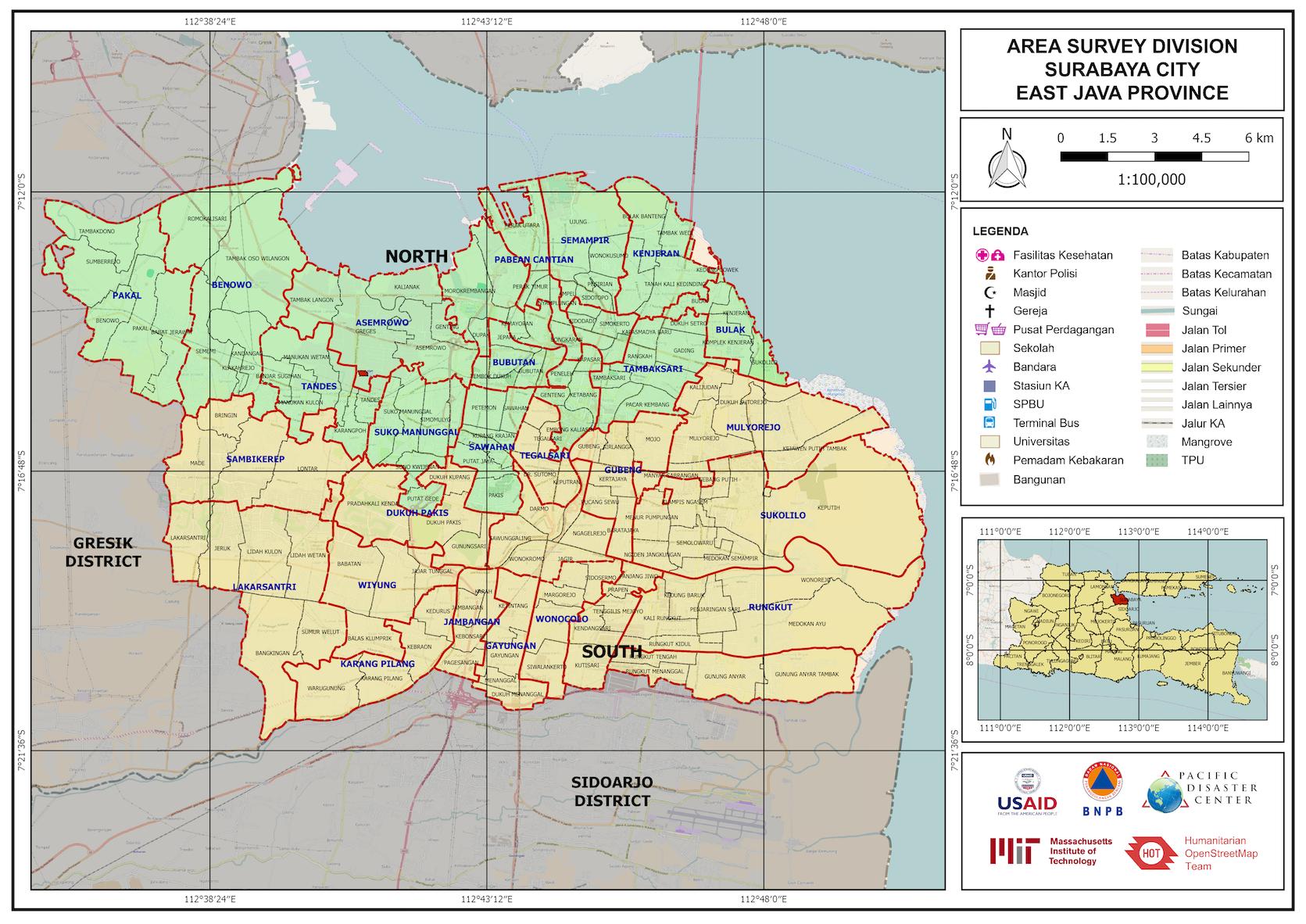 area survey division